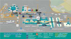 Paris-Charles de Gaulle Airport map