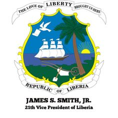 JAMES SKIVRING SMITH JR. (no photo available) served as the 21th VICE PRESIDENT OF LIBERIA from 1930 - January 3 1944 under President Edwin Barclay.  Born in Upper Buchanan Grand Bassa County Smith was educated at a school operated by Mrs. Lucy Page and later at Liberia College before moving onto Cuttington College where he obtained his BA in 1901.  Prior to becoming VP Smith was commissioner of public schools for Grand Bassa mayor of Edina and superintendent of Grand Bassa from 1924 - 1927…