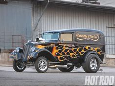 Gary Schmitt's 1933 Willys Sedan Delivery - Catch Me If You Can    Read more: http://www.hotrod.com/featuredvehicles/hrdp_1012_gary_schmitts_1933_willys_sedan_delivery/#ixzz21a1vWvIq