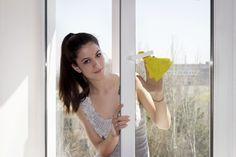 Cómo limpiar ventanas y mamparas de blindex