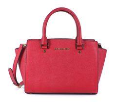 Michael Kors Women's Selma Medium Top Zip Satchel (Medium, Black): Handbags: Amazon.com