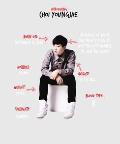 Introducing Choi Youngjae | Youngjae's profile