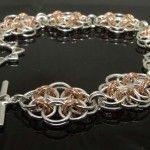 Celtic Flowers Sterling Silver bracelet