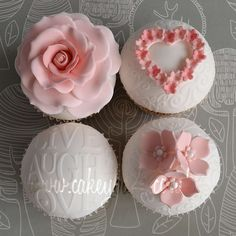 I love the heart covered in little flours. These are truly gorgeous.. and inspiring.