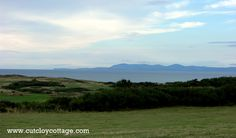 The view from Cutcloy Cottage garden towards the Isle of Man. http://www.cutcloycottage.com