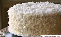 Receta y Preparación de Torta de Coco
