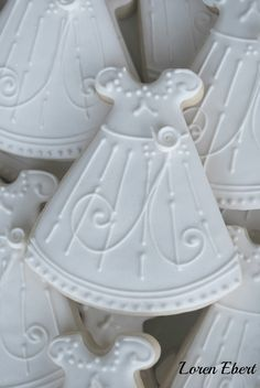 The Baking Sheet: Christening Dress Cookies!