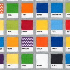 Robert Kaufman Fabrics: ACK-16205-204 PRIMARY by Cynthia Frenette from Design Basics