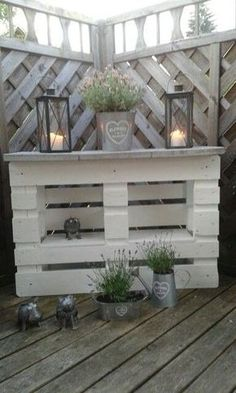 20 palette recycling ideas for your garden. Absolutely to copy! Garten - diy pallet creations 20 palette recycling ideas for your garden. Absolutely to copy! Garten The decoration of home is similar to a.
