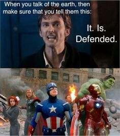 Doctor Who/Avengers.