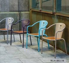 SILLA VINTAGE LIBELO M Outdoor Chairs, Outdoor Furniture, Outdoor Decor, Colors, Home Decor, Decks, Furniture, Decoration Home, Room Decor