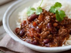 Here's a spicy classic you can still eat while on a diet. Serve with a salad and/or a very small portion of rice. Don't forget you've already got carbs in the beans.