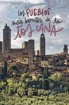 Los 10 pueblos más bonitos de la Toscana Vacation Places, Italy Vacation, Vacation Trips, Italy Travel, Italian Phrases For Travelers, Sorrento Italia, Travel Around The World, Around The Worlds, Siena