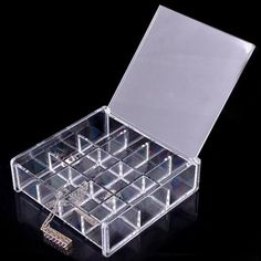 Choice Fun Stackable Acrylic Makeup Organizer and Jewelry Storage