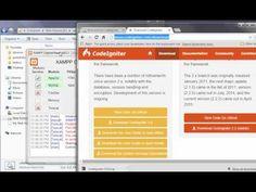 web development - how to instal CODEIGNITER 3.0