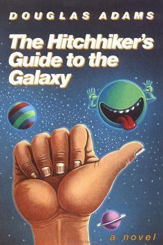 If you loved Doctor Who, you should read Douglas Adams' The Hitchhiker's Guide to the Galaxy. | 24 Books You Should Read, Based On Your Favorite TV Shows