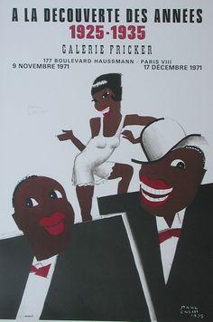 A La Decouverte des Annees 1925 - 1935 (handsigned) by Colin, Paul
