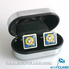 Wood Clan Crest Cufflinks