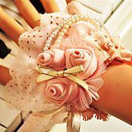 Hand-tied Rose Wedding/Party Bridal Wrist Flower – USD $ 24.99