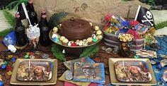 pirates of the caribbean theme party - Google Search