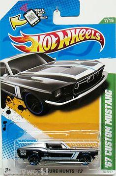 Custom 1967 Ford Mustang Hot Wheels 2012 Treasure Hunt
