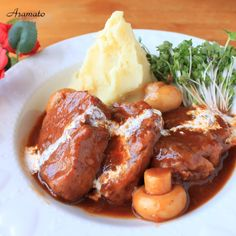 豚ヒレ肉の煮込み Translates to English if you want the recipe. Pork Recipes, Asian Recipes, Cooking Recipes, Healthy Recipes, Pork Stew, Food Gallery, Western Food, How To Cook Pork, Lunch Menu