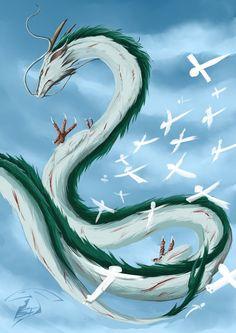 Haku ( dragon) by Super-Furet.deviantart.com on @DeviantArt