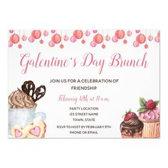 Brunch Invitations, Custom Invitations, Shower Invitations, Fun Relationship Questions, Pink Sweets, Waffle Bar, Valentine's Day Printables, Valentines Day Party