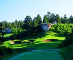 One of the finest public golf courses in Denver is The Ridge golf course Castle Rock, CO