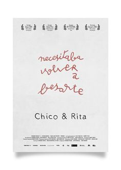 Chico y Rita *Cover* by Paul Smile, via Behance