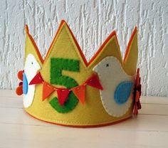 birthday crown by kara