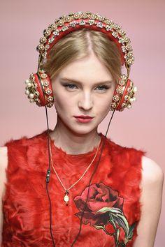 OMG! Headphones Dolce&Gabbana <3