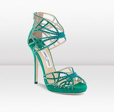 Jimmy Choo - -Diva Its only US$1495.00  Firmly dream material for this girl :( Oh, but what a dream!