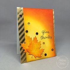 Mel's Card Corner | Give Thanks