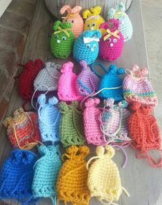 Crochet easter egg BUNNY cozy, fun, seasonal,  & cute. covers plastic Easter egg.