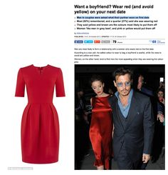 If you want to remembered on a first date then wear red! An Interesting survey in the Daily Mail, which looked into how female dress choices on a date affect levels of attraction and that men remember you best in red on a first date.  Michaela Jedinak's Alana dress was featured as one red dress option for a date night.