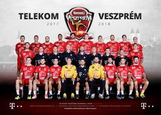 TELEKOM VESZPREM 2017 Sports, Movies, Movie Posters, Pictures, Handball, Hs Sports, Photos, Film Poster, Excercise