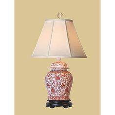 asian lamp painted - Google Search