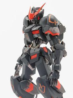 Painted Build: 1/100 01 Gundam Barbatos - Gundam Kits Collection News and Reviews