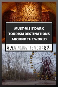 It might not be for everyone but dark tourism sites are now more visited than ever before. Some of the top dark tourism destinations around the world. Places To Travel, Travel Destinations, Places To Visit, Agency Logo, Travel Around The World, Around The Worlds, Dubai, Travel Articles, Travel Tips
