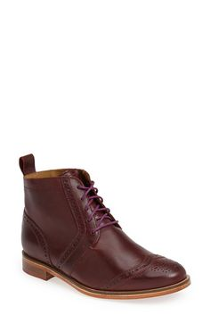 Free shipping and returns on J SHOES 'Olympias' Wingtip Boot (Women) at Nordstrom.com. Take a page from menswear style with this classically cut boot, finished with intricate broguing and wingtip details.