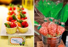 Reeses Pieces Carrot Bags