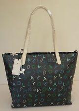 "Radley Black Large Shoulder/Shopper Bag - BNWT - ""Alphabetti"" - RRP £89 - NEW"