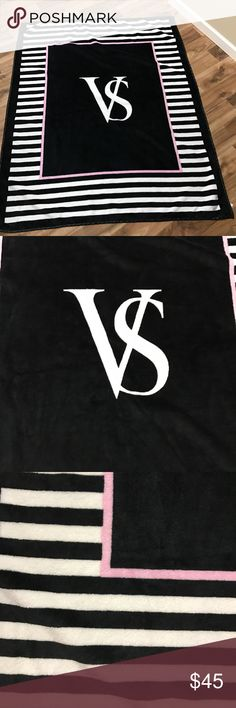 ✨NWOT✨ Victoria Secret Blanket ✨NWOT✨ Victoria Secret Blanket. I have several of these and never ended up using this one. It's very cute and sooooo soft! Victoria's Secret Accessories