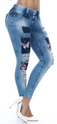 Jeans levanta cola ENE2 93273