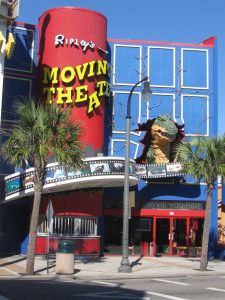 Ripley's Moving Theater...along Ocean Boulevard, Myrtle Beach SC. Read all about Myrtle Beach attractions... www.myrtlebeachfamilyvacation.org/myrtle-beach-attractions.html