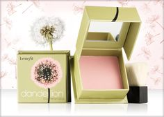 Benefit Cosmetics Blush in Dandelion. A pale pink brightening face powder                              #OnCarmenC