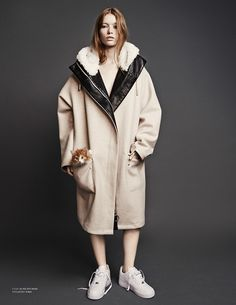 Free At Last | Scandinavia S/S/A/W S/S 2014 | Julia Hafstrom lounges with cats in this editorial by Hasse Nielsen.