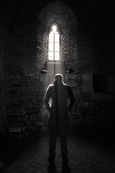 """""""He stood in the light for longer than he meant to.  But not because he was afraid of the darkness, because he was afraid it would be the last time he was welcomed by the light."""" Sp"""