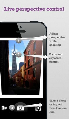 Perspective Correct - iPhone Photography App - Temporary Price Drop